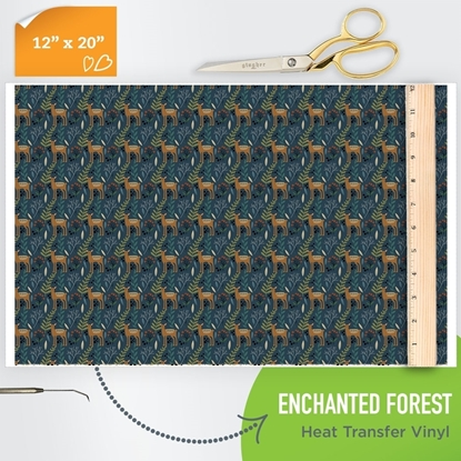 Picture of Happy Crafters Pattern HTV - Enchanted Forest