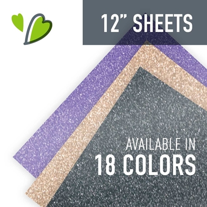 "Picture of Siser® EasyPSV™ Permanent Glitter - 12""x12"" Sheet"