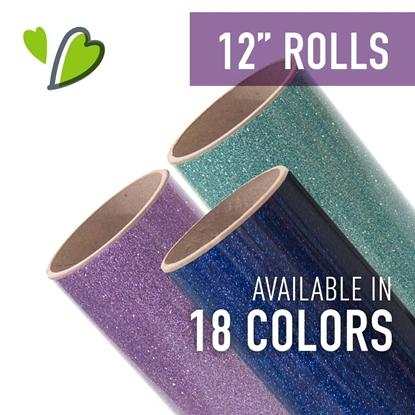"Picture of Siser® EasyPSV™ Permanent Glitter - 12"" Rolls"